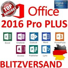 Microsoft Office 2016 Professional Plus Pro Plus 32 bit 64 BIT ESD KEY CHIAVE