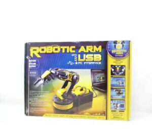 Robotic Arm with USB PC Interface Build Your Own Programmable Robot Arm NEW