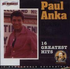 Paul ANKA DIANA - 16 Greatest Hits