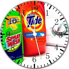 "Laundry Room wall Clock 10"" will be nice Gift and Room wall Decor X57"