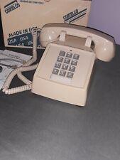Cortelco Corded Phone Telephone Desk 250044-Mba-20M W/ Ringer Volume Control
