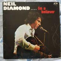NEIL DIAMOND - I'M A BELIEVER - 1967 SIGNED VINYL ALBUM  - JOY LABEL