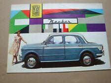 NSU Fiat Neckar Prospekt um 1960
