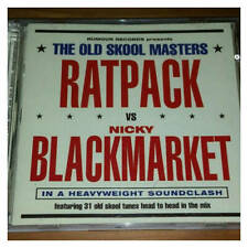 Ratpack vs Nicky Blackmarket The Old Skool Masters 2 X CD Rumour Records 0 NEW