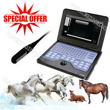 CE VET Veterinary Ultrasound Scanner Laptop Machine with 7.5Mhz Rectal Probe,New