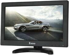 "Eyoyo 12"" TFT LCD Monitor AV HDMI BNC VGA 1366x768 Mini HD Color Screen Display"