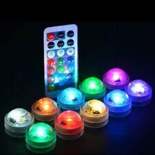 Waterproof LED Aquarium Light Remote Controller Round Fish Tank Decoration home