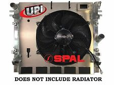 2007-2012 JEEP WRANGLER JK SHROUD AND SPAL FAN UPGRADE - BUILT IN USA!
