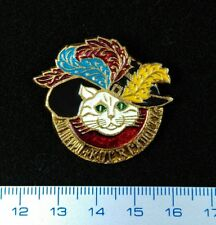 "USSR PIN VINTAGE.Russian Badge.""Puss'n Boots"".Le Chat Botté.(Perrault indicated)"