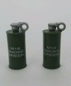 Ultimate Soldier 21st Century Weapon M18 Green Smoke Grenade 1:6 Scale Figures