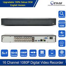 16 Channel 1080P H.265 Dvr For Cvi/Tvi/Ahd/Cvbs/Ip 5in1 Digital Video Recorder