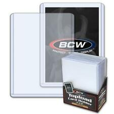 25 BCW Topload Rigid Holders For Trading Card Premium Quality 3 x 4 1 Pack NEW