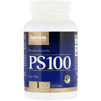 2 X JARROW FORMULAS, PS100 Phosphatidylserine 100mg TOTAL240 Caps BRAIN FUNCTION