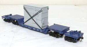 MTH Articulated Flat Car with Load - Nickel Plate - O Scale, 2-Rail