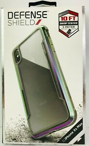 X-DORIA LIFE SHIELD CASE Apple iPhone XS Max Military Grade Iridescent Color NEW