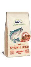 Croccantini Per Gatti Lifecat Adulti Sterilized Con Salmone Fresco Kg 1.5