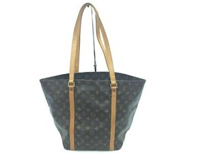 "Auth LOUIS VUITTON Monogram Sac Shopping Shoulder Tote bag 0J010030n"""