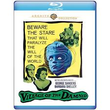 Village of the Damned 1960 (Blu-ray) George Sanders, Barbara Shelley - New