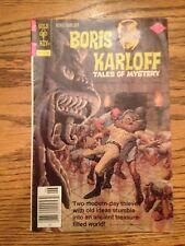 Boris Karloff Tales of Mystery (Whitman) #75 1977 VG 4.0 Stock Image Low Grade