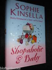 SIGNED; Shopaholic and Baby by Sophie Kinsella (Hardback, 2007-1st) Humour Novel
