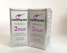 Nailtiques Formula 2 Plus Nail Protein x2 7ml Bottles