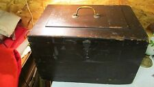 Antique Wood Carpenters Tool Chest