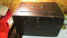 Antique Wood Carpenters Tool Chest