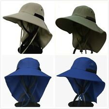 Neck Back Flap Cover Hat Legion Work Fishing Sun Cap Outdoor Hiking Wide Brim
