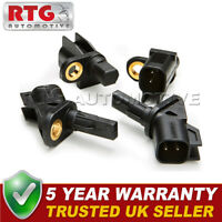4x ABS Wheel Speed Sensors Front Rear Fits Ford Mondeo (Mk4) 2.2 TDCI