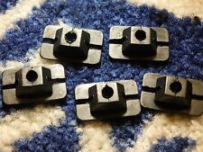 5 X  FORD CORTINA MK4   FRONT GRILLE RETAINING CLIPS NEW OLD STOCK