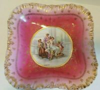 Kaufmann Angelica Pink Porcelain Bowl. Victoria Carlsbad. Austria