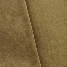 Brown Faux Velvet Chenille Home Decorating Fabric, Fabric By The Yard