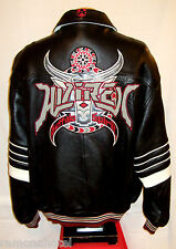 "**AVIREX ""BUFFALO SPIRIT"" NEW YORK  LEATHER  Jacket/Coat**3XL**$750***EXCELLENT!"