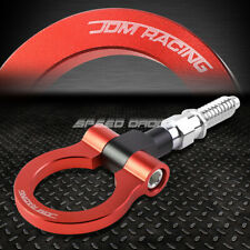 "7"" M15.8xP3.175 RED FRONT/REAR TOW HOOK RING 97-06 BMW 3/5/7 SERIES 03-14 MINI"