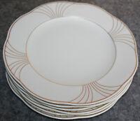 Arco Gold 6 x Frühstücksteller 21 cm / Kuchenteller Villeroy & Boch NEUWARE