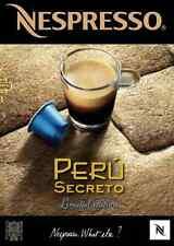 The Mysterious Peru Secreto Rare Limited Edition Nespresso Coffee *30 Capsules*