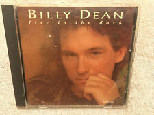 Billy Dean Fire in the Dark *Country CD 93 Liberty Playgraded