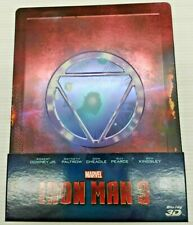BLU-RAY STEELBOOK IRON MAN 3