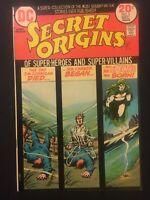 SECRET ORIGINS NO.5. 1973 BRONZE AGED DC CENTS. THE SPECTRE. NICK CARDY COVER.