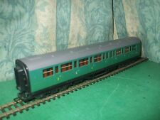 HORNBY EX SR MAUNSELL GREEN COMPOSITE COACH ONLY - UNBOXED