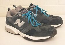 New Balance 623 Blue Suede Casual Athletic Shoes w/Abzorb Soles US 14 EU 49 LOOK