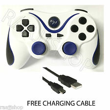 NEW BLUETOOTH WIRELESS GAMEPAD CONTROLLER JOYSTICK REMOTE FOR PLAYSTATION 3 PS3