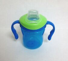 Playtex TrainingTime BPA Free Lil'Gripper Straw Train  Blue with Green Lid  S52