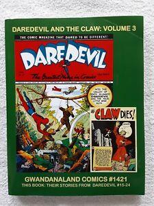 Daredevil and the Claw vol. 3 (Gwandanaland Comics, 2017) TPB