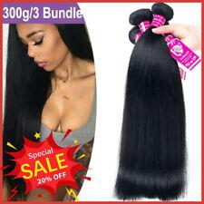 Brazilian 300g Weave Bundle Human Hair Extensions 100% Virgin Unprocessed Hair