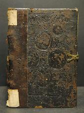 Postinkunabel - Gabriel de Barletta – Sermones - Hagenau 1510 - Alter Einband