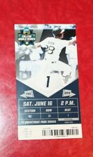2018 COLLEGE WORLD SERIES CWS GAME 1 TICKET NORTH CAROLINA - OREGON STATE