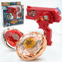 Beyblade Metal Fusion Toys Spinning Tops Toy Beyblade Toy with Double Launcher