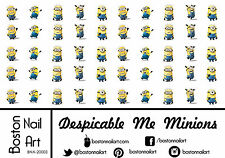 Despicable Me Minions - Waterslide Nail Decal - 50 PC - BNA-20003