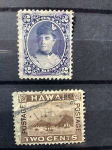 Hawaii Early Stamps